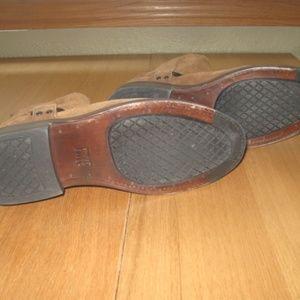 Frye Shoes - Mens Frye Walt Harness Fatigue Waxed Suede Boots